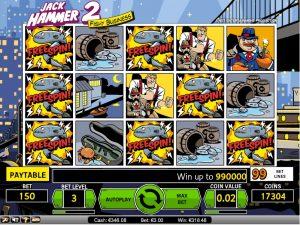 Jack Hammer 2 slots